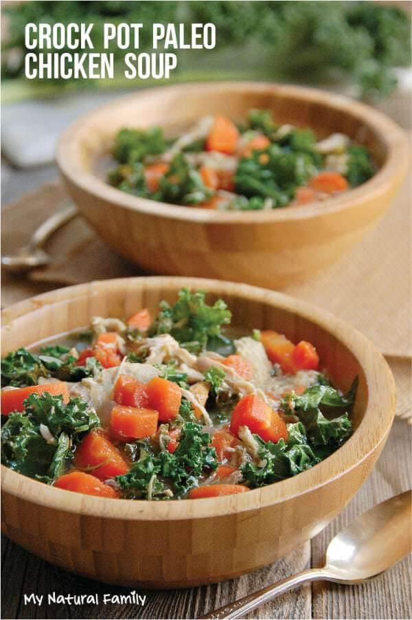 Healthy Chicken Soup with Kale Recipe - Best Recipe Box