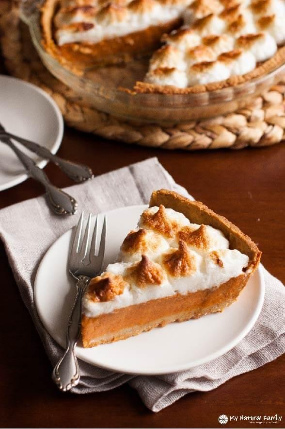 Clean Eating Sweet Potato Pie Recipe