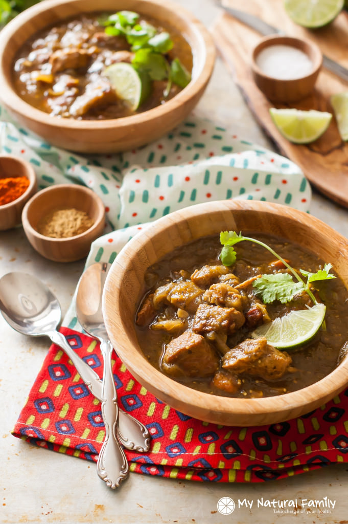 Clean Eating Chili Verde Recipe