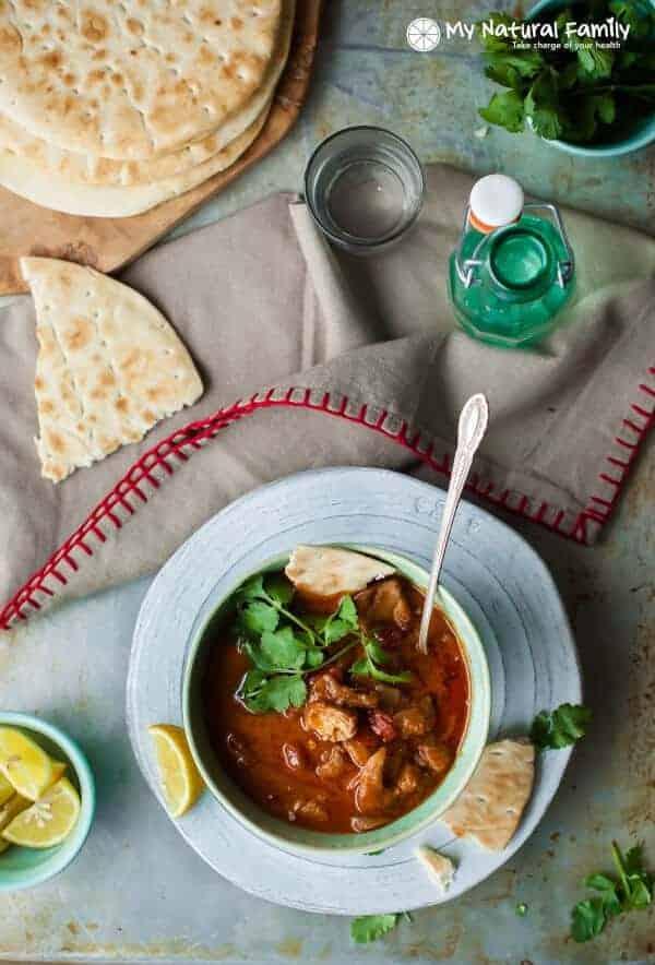 Gluten Free and Dairy Free Crock Pot Paleo Chicken Tikka Masala Recipe