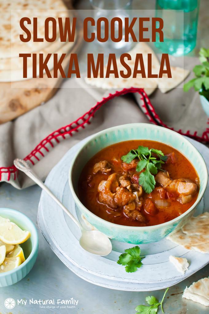 Clean Eating Slow Cooker Chicken Tikka Masala Recipe