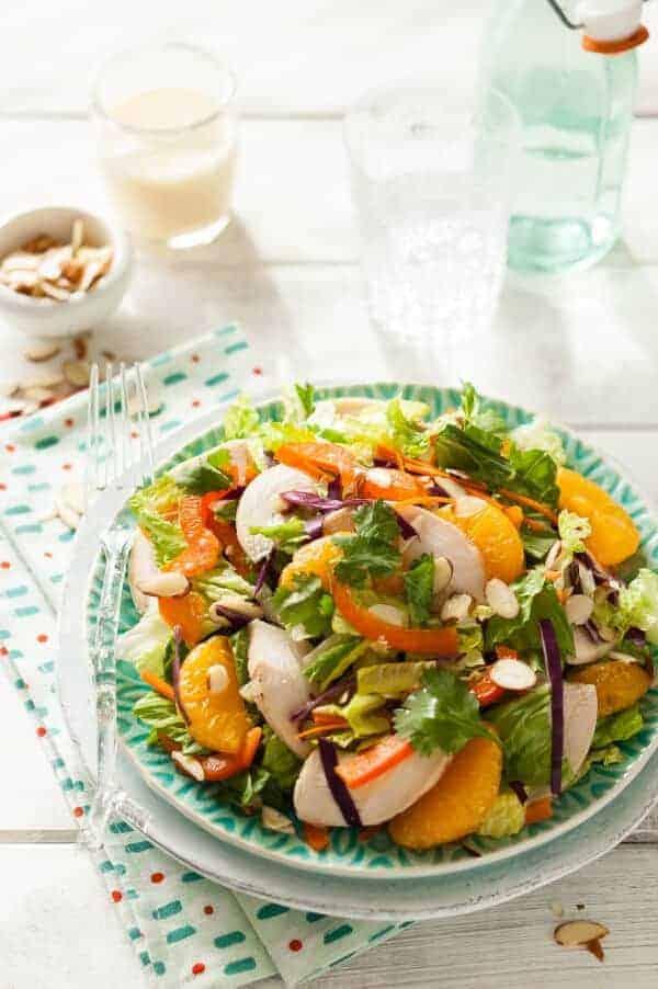 Oriental Chicken Salad Recipe {Paleo, Gluten-Free, Clean Eating, Dairy-Free}