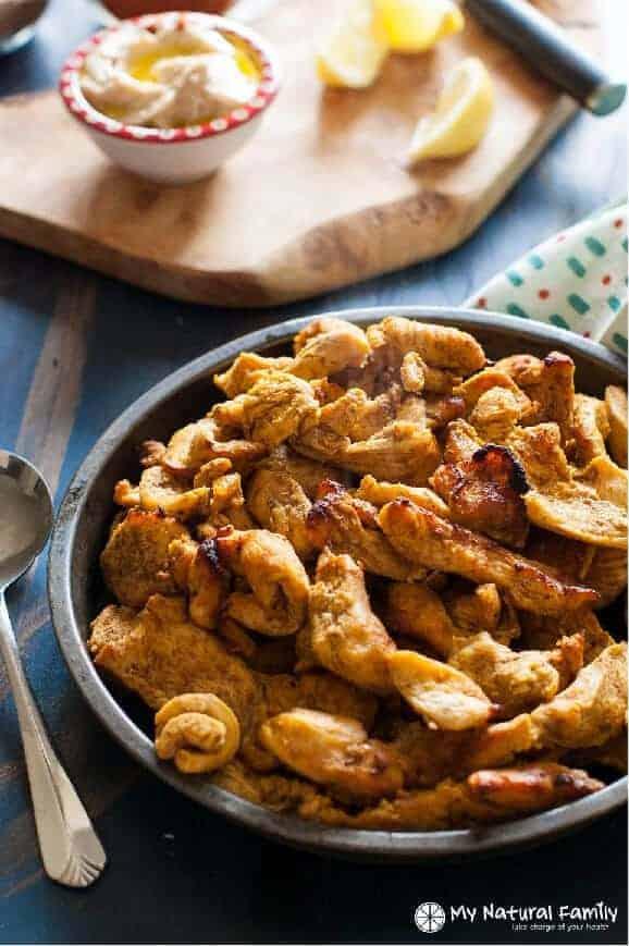 Chicken Shawarma Recipe (Paleo, Gluten Free, Clean Eating, Dairy Free ...
