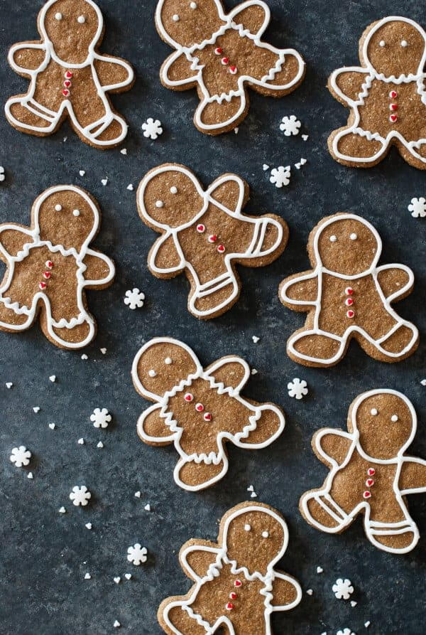 Paleo Gingerbread Cookies 1