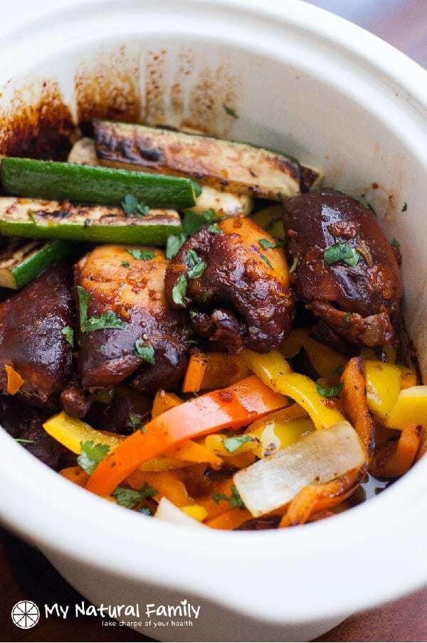 paleo chicken thighs crock pot Recipe {Paleo, Clean Eating, Gluten Free, Dairy Free}