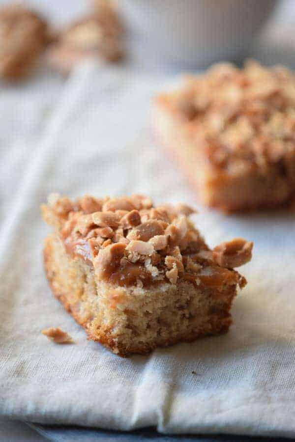 Salted Carmelitas Paleo Bars Recipe {Paleo, Gluten-Free, Clean Eating, Dairy-Free}