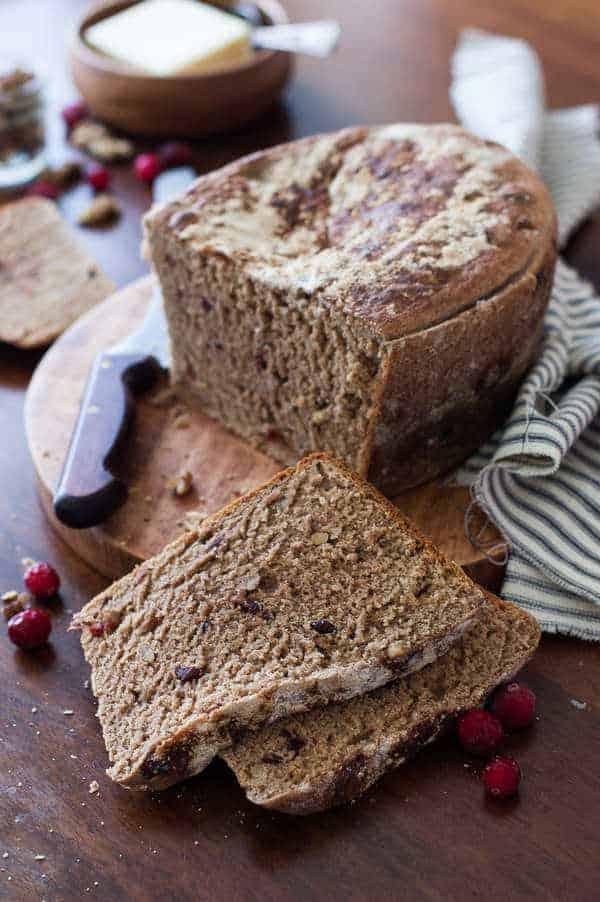 clean whole wheat bread recipe