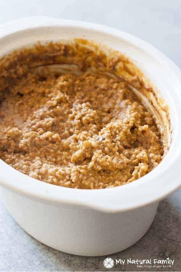 steel cut oats slow cooker recipe pumpkin