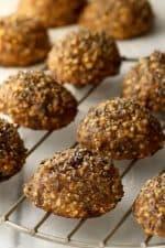 Healthy breakfast applesauce cookies