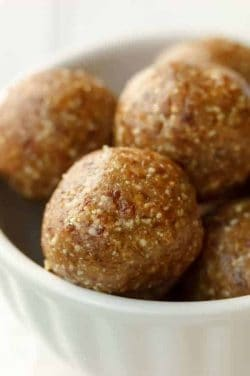 no bake healthy peanut butter balls