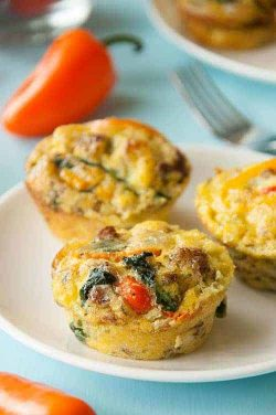 paleo breakfast egg muffins