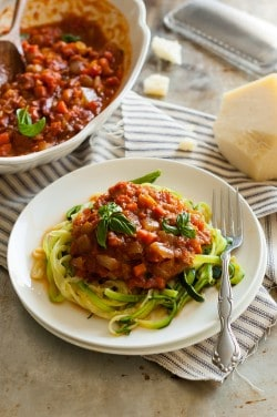Chunky Vegetable Roasted Tomato Marinara Sauce