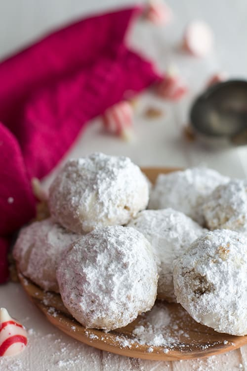 Gluten Free Snowball Cookies Recipe With A Surprise Center