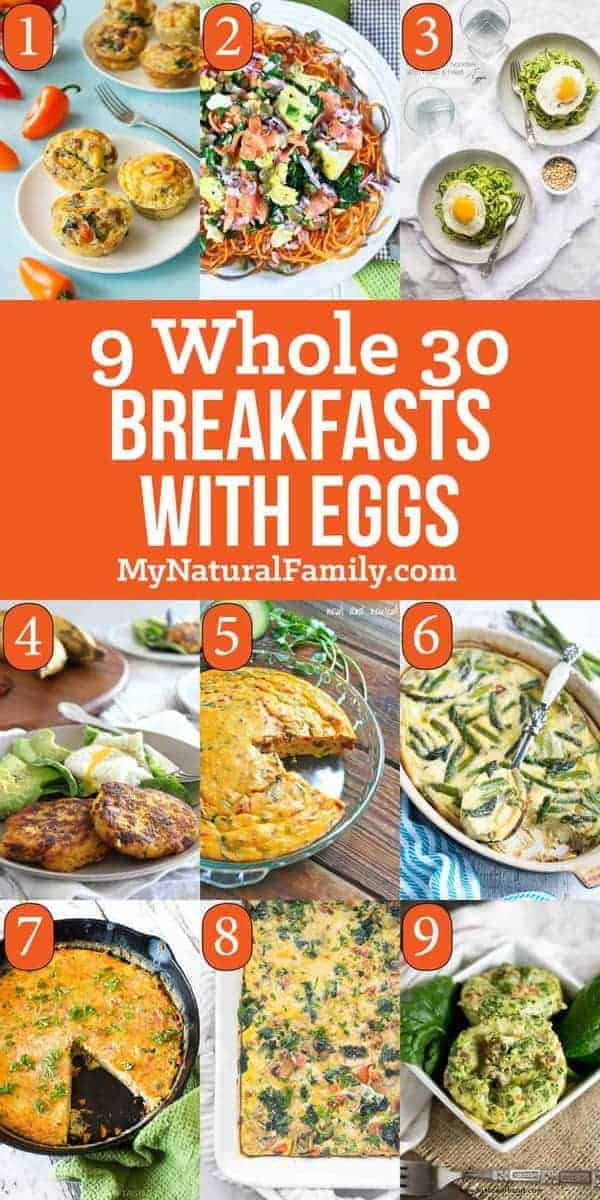 Whole 30 Breakfast Recipes with Eggs