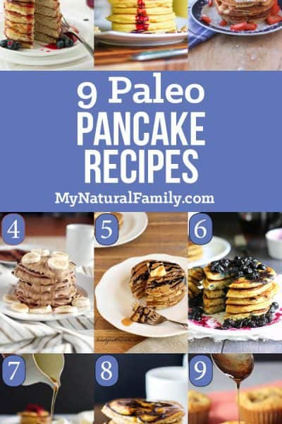 9 Paleo Pancakes