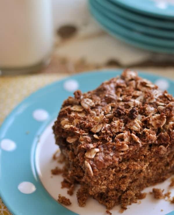 Clean Eating Breakfast Cake