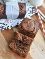 Traditional Paleo Gingerbread Loaf Recipe {Gluten-Free, Clean Eating, Dairy-Free}