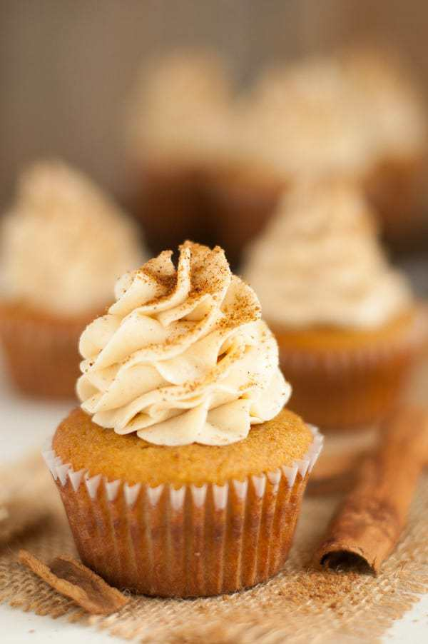 Paleo Snickerdoodle Cupcakes