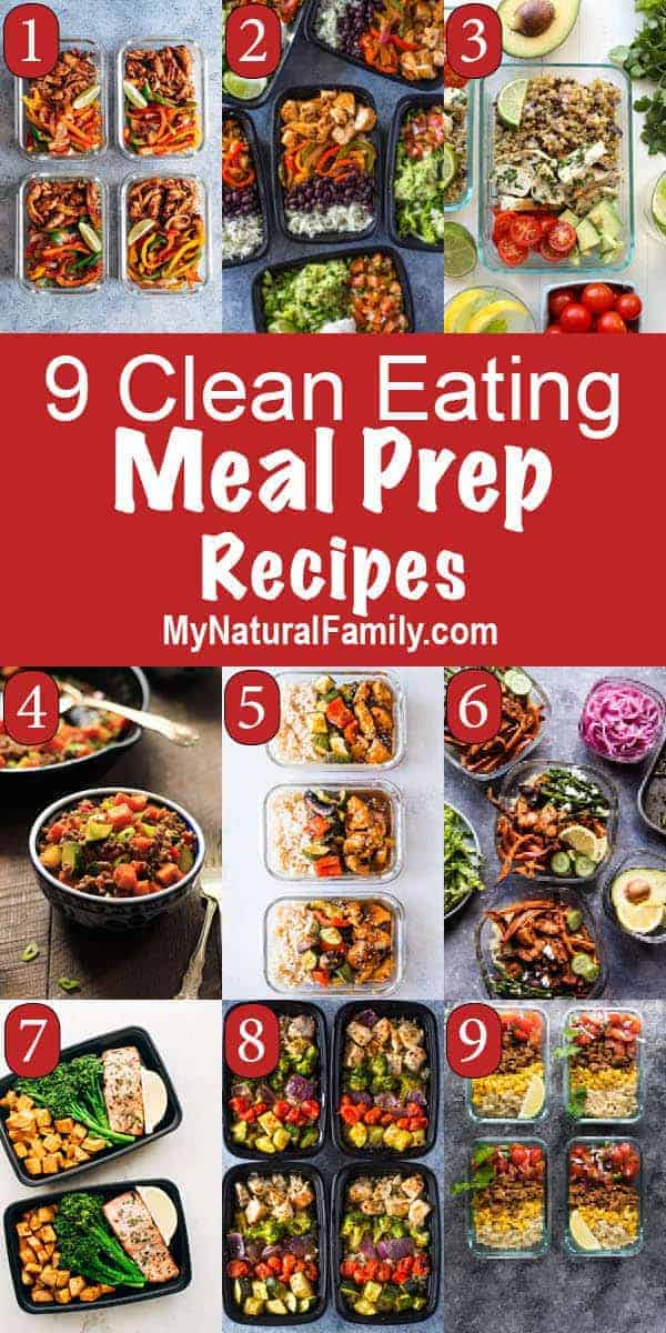 Clean Eating Meal Prep Recipes