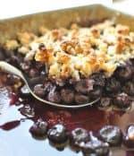 Paleo Blueberry Crisp Recipe
