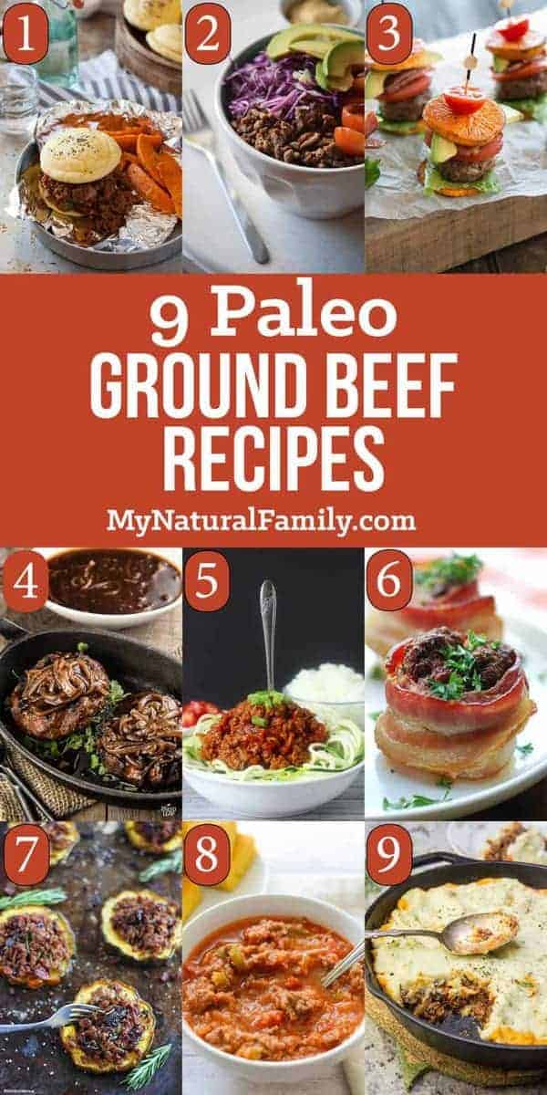 9 Paleo ground beef recipes