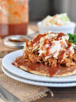 Redneck Tacos aka Cornmeal Spelt Pancakes