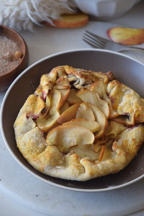 Apple Galette Recipe {Paleo, Gluten-Free, Clean Eating}