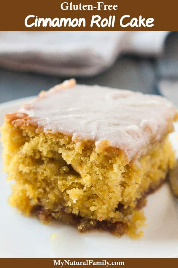 The Best Gluten-Free Cinnamon Cake Recipe - It's Like a Cinnamon Roll