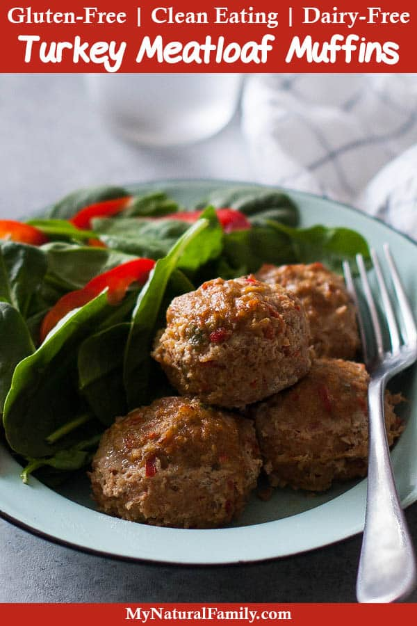 Best Easy, Ground Turkey Meatloaf Muffins Recipe {Gluten-Free, Clean Eating, Dairy-Free}