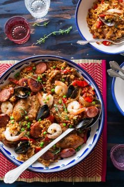 Healthy Paella Recipe