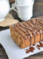 Paleo Almond Butter Bread Recipe with Chocolate Chips {Gluten-Free, Clean Eating, Dairy-Free, Vegan}