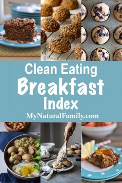 Clean Eating Breakfast Recipes Index