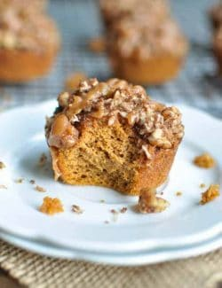 Paleo Pumpkin Muffins With Almond Butter
