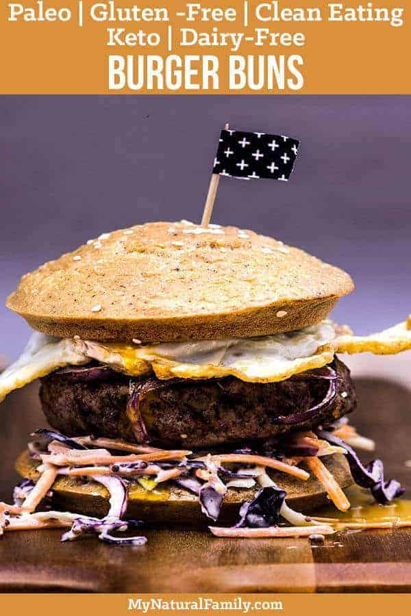 The Ultimate Paleo Burger Buns