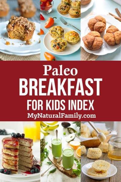 Paleo Breakfast for Kids Recipes
