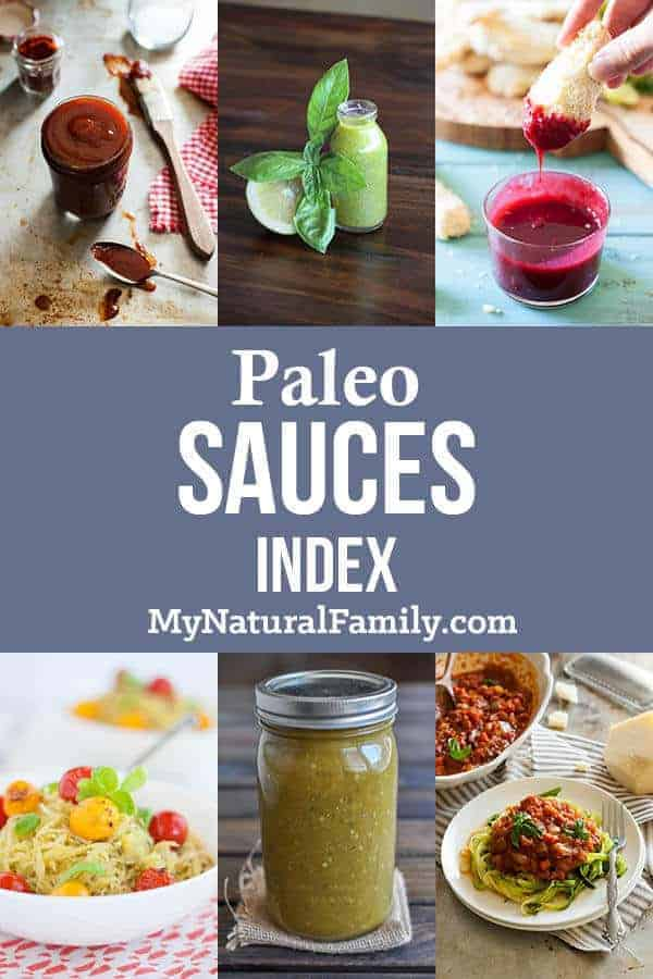 Paleo Sauces Index