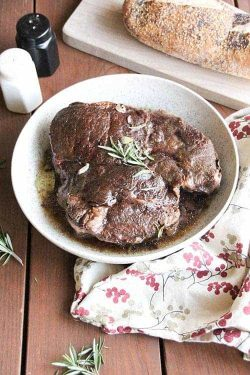 Paleo Balsamic Pot Roast Recipe