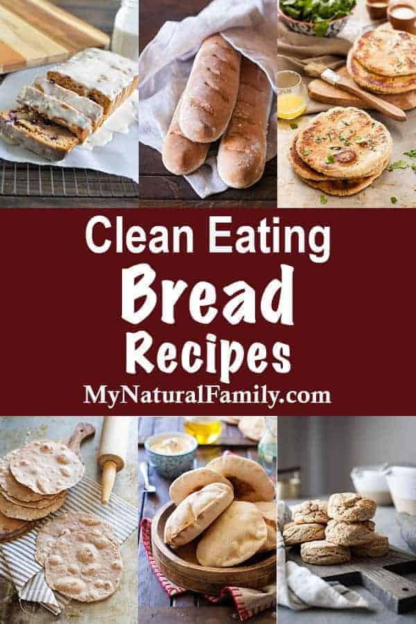 Clean Eating Bread Recipe Index