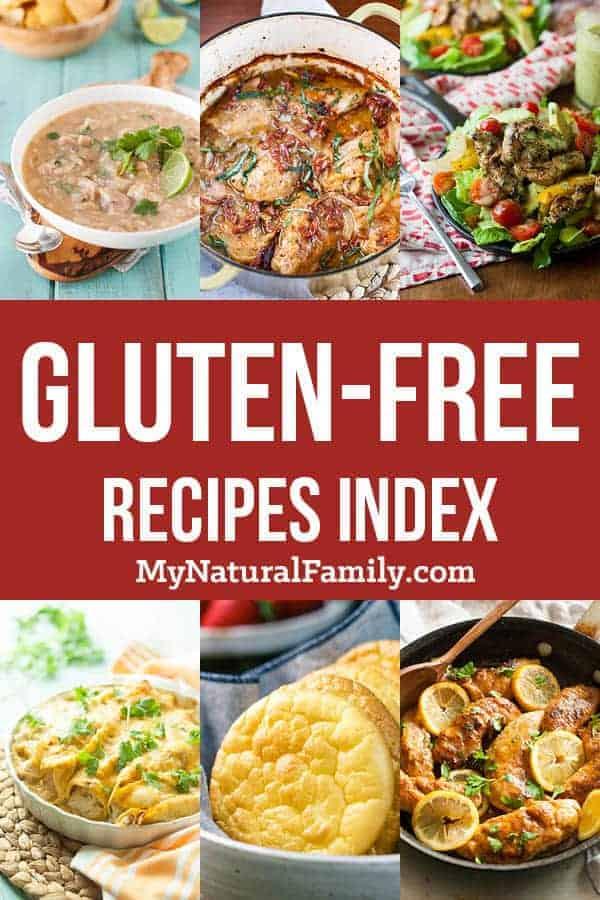 Gluten-Free Recipes Index