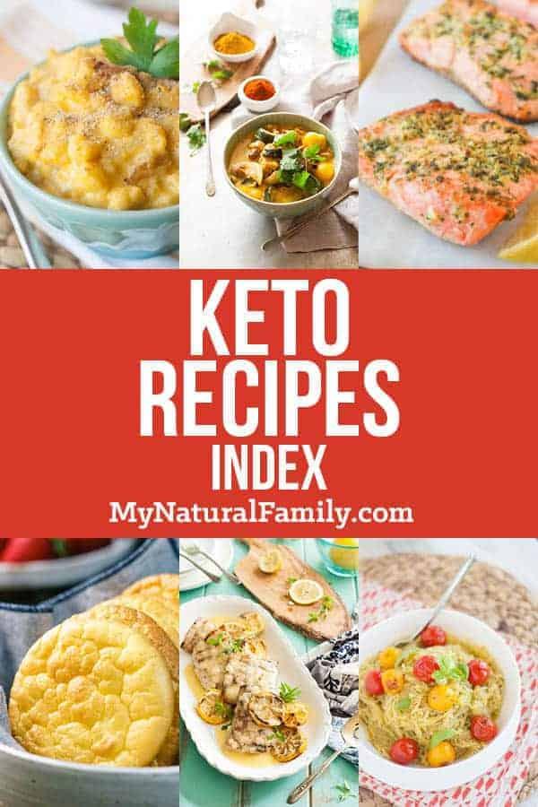 Keto Recipes Index