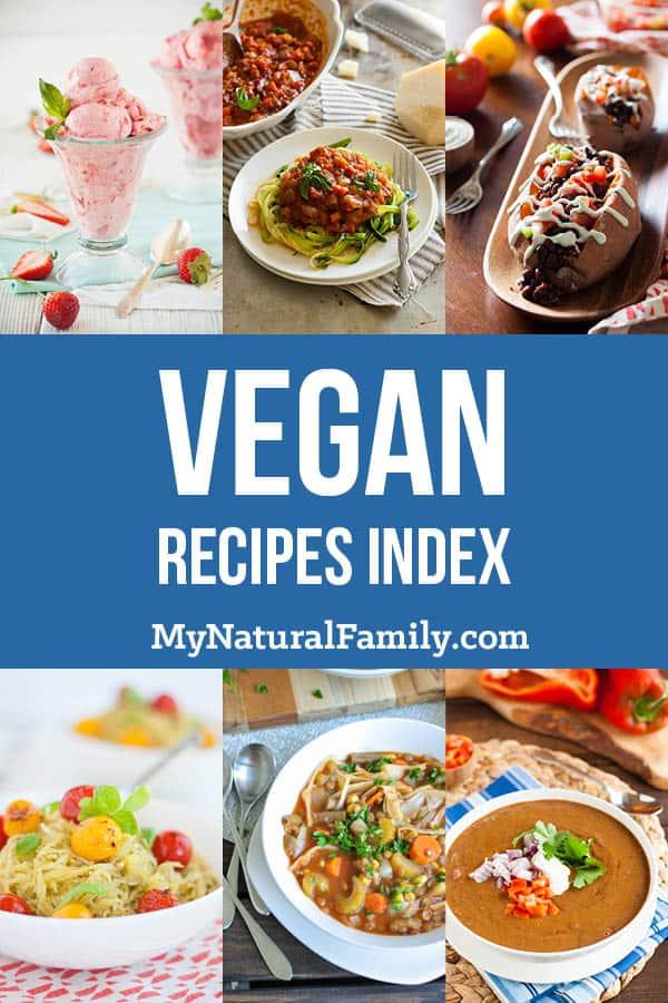Vegan Recipes Index